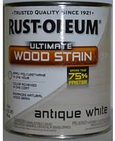 Морилка по дереву на основе масла,тонирующее масло, антично-белый (Antique White) Rust Oleum(США)0,946 л