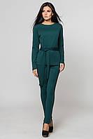 Костюм женский, кофта и брюки | зеленый