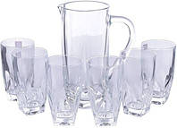 Набор кувшин + стаканы  (1+6) RCR Diamante 250310