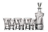 Набор для виски Bohemia Apollo (1+6 шт) 391