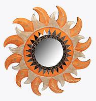 Зеркало мозаичное на стену Солнце