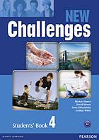 Challenges NEW. Level 4 - підручник (учебник)