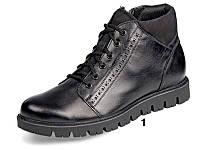 Мужские ботинки осенние  МИДА 12153  из натуральной кожи.