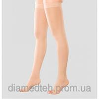 Чулки  с сильной компрессией с открытым носком 25-35мм.рт.ст.RxFit модель 202