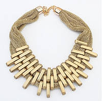 Колье Плетение золото/бижутерия/цвет цепочки золото
