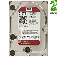 HDD SATA 2.0TB WD Red 5400rpm 64МB ( WD20EFRX)