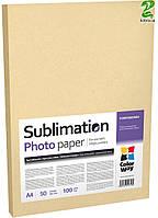 Фотобумага CW сублимационная 100g/m2, А4, 50л (PSM100050A4)
