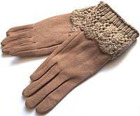 Перчатки теплые на меху сенсорные