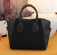 Стильная модная женская сумка - БАРХАТ
