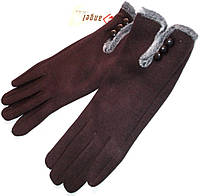 Перчатки на меху сенсорные Angel Collection размер 6,5