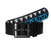 Молодежный ремень с графикой для парней Quiksilver Filter M BLTS (XL-38) 887973381769 черный/синий
