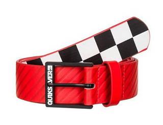 Яркий ремень с графикой для парней Quiksilver Filter M BLTS Grenadine-Solid (L-36) красный/белый
