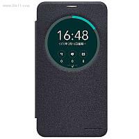 """Чехол Nillkin Sparkle Leather Case для Asus ZenFone 2 Lazer 6"""" (ZE601KL) Dark Grey"""