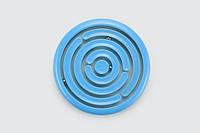 Головоломка-лабиринт с шариками (цвет голубой), Kid О