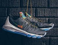 Баскетбольные кроссовки Nike KD 8 BHM Black/Multi-Color - 1450