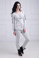 Спортивный костюм Шанель серый S M L