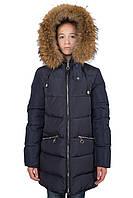 Качественное пальто для девочек Донило 9-14 лет