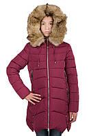 Пальто для девочки Кико 4134 Новая коллекция Кико 2017 на 9-14 лет