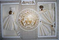 Скатерть с салфетками ванильного цвета Armeda