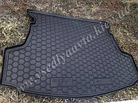Коврик в багажник на Geely GC5 седан (Avto-gumm) пластик+резина
