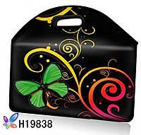 Чехол для планшета , нетбука абстракция бабочка