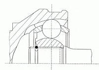 Шрус bmw 5,6,7er 83^ (производство GKN-Spidan ), код запчасти: 20426
