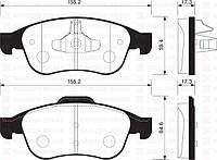Колодка торм. samsung sm3 (производство Sangsin brake ), код запчасти: SP1390