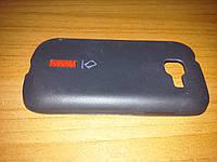Накладка на заднюю крышку для Samsung S7390 черная