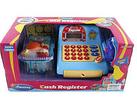 Кассовый аппарат с продуктами для игры в магазин