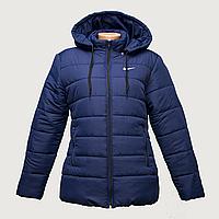 Куртка женская темно-синие интернет магазин недорого от производителя  K225
