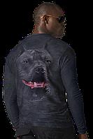Эксклюзивная футболка с рисунком 4D питбуль