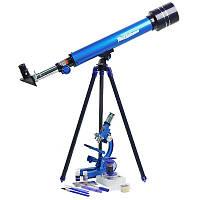 Детский игровой набор Микроскоп + Телескоп