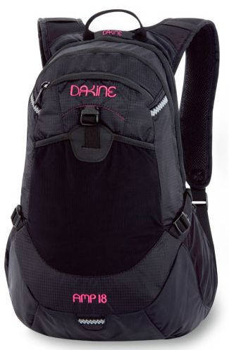 Удивительный рюкзак 18 л Dakine GIRLS AMP'10 610934542691 черный