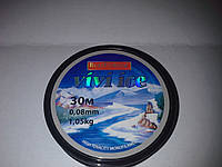 Леска рыболовная Bratfishing Vivi Ice 30 м (зимняя) 0.18-(4.65кг)
