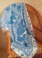 Детское одеяло байковое Киця 90х100
