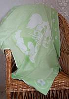 Детское одеяло байковое Дружок 90х100