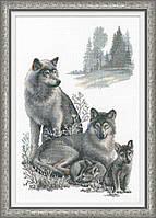 Набор для вышивания RIOLIS PREMIUM «Волки» (100/021)