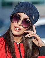 Женская стильная шапка из ангоры (3 цвета)