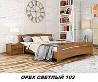 Кровать Венеция двуспальная Бук Щит 103 (Эстелла-ТМ)