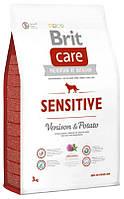 Brit Care Sensitive Venison & Potato 1 kg для взрослых собак всех пород с олениной