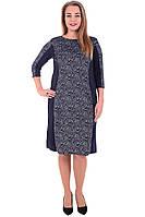 Платье женское теплое размер 50,52,54 трикотаж Польша