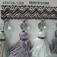Декоративная тесьма .бахрома для отделки штор подушей ламбрекенов