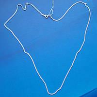 Серебряная цепочка, 500мм, 2,8 грамма, плетение Панцирь