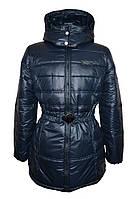 Осенние куртки женские Urban Style черная, синяя размер 46-54
