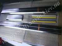 Защита порогов - накладки на пороги Nissan QASHQAI с 2007 г. (Standart)