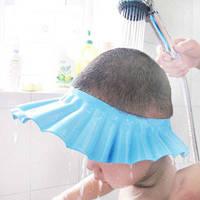 Шапочка для душа Козырек для купания малышей Защита глаз