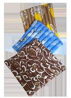 Сидушка раскладная из гречневой шелухи Лотос, 50x50 см (сатин)