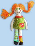 Набор для валяния игрушек В-166 Пеппи Длинный чулок