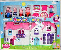 """Детский игровой набор """" Свинка Пеппа - милый дом. Пеппа и семья"""" PP6005A"""