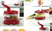 Kitchen King PRO™ Manual Food Processor, ручной кухонный комбайн, измельчитель овощей